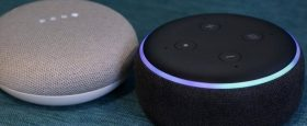 google and amazon home speaker