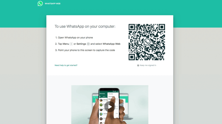 WhatsApp Web - How to Use WhatsApp on Desktop or Tablet