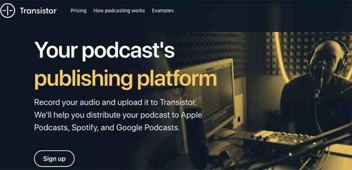 transistor podcast hosting