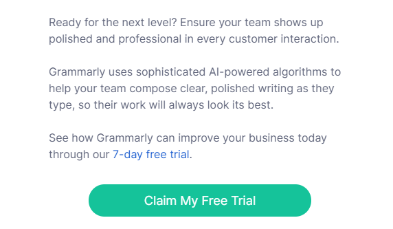grammarly business free trial 2021