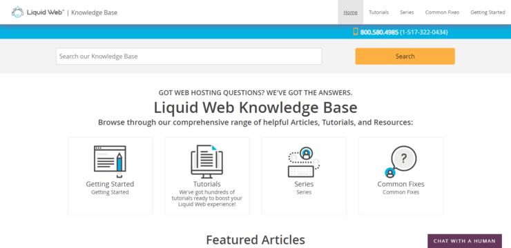 liquidweb knowledge base