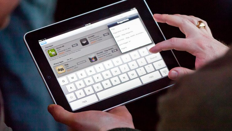 turn off autocorrect on ipad