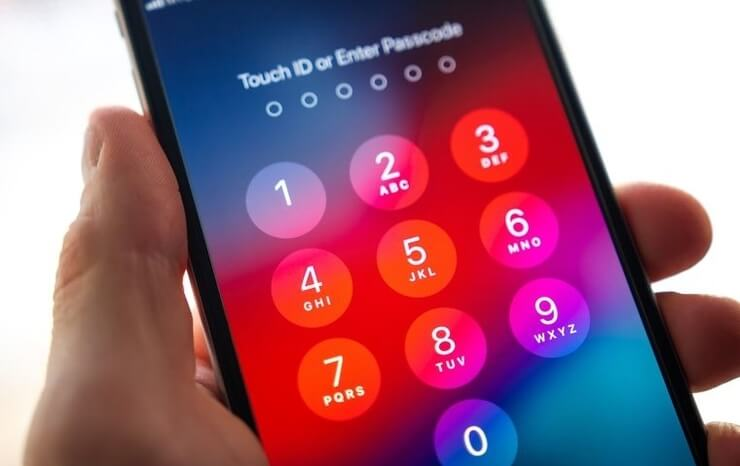 turn off passcode on iphone